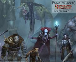 Forgotten Realms: Monsters (zoom 3) by Conceptopolis