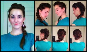 How to: Elsa (Frozen) Quick Change Hair by Durnesque