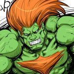 Digital Sketch Warm up - 09 Blanka by Vostalgic