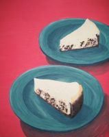 Cheesecake slices by Naerko