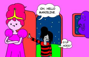 Oh, Hello Marceline by AVRICCI