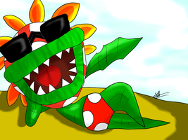 Petey Piranha: Hey brother! Want a cookie? by kaiserkleylson