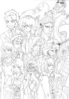 Bleach and Doctor Who Crossover: W.I.P. *SPOILERS* by RomaniaBlack