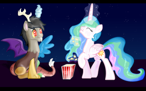 At the Cinema - Celestiacord by SJArt117