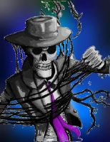 Skulduggery Pleasant! Death Bringer by greenejss