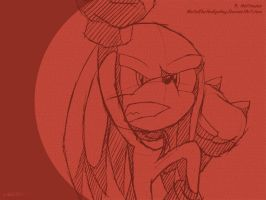 SW: February 2011 - Knuckles by Metal-CosxArt