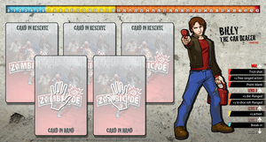 Zombicide Redesigned Character Sheet - Billy by ZAQUARD