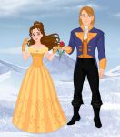 Belle and Adam by M-Mannering