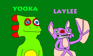 Yooka and Laylee from Yooka-Laylee by MikeEddyAdmirer89