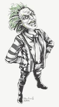 Beetlejuice by Arqueart