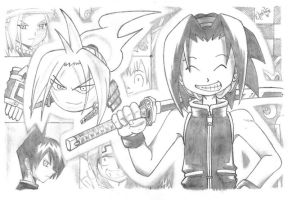 Shaman King by EloAnNe