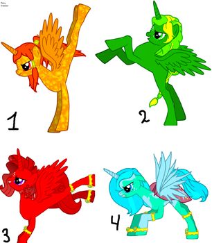 Pony Adoptables FREE (CLOSED) by 8976lacke