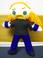 Pickles The Drummer Doll by Rolii