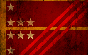 Grunge Vocenae Flag Wallpaper by CommieTechie