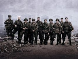 Band of Brothers Wallpaper by tr4br