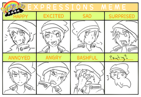 Liam's Expressions by TheKiwiSlayer