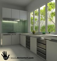 simple kitchen by yoel-touch