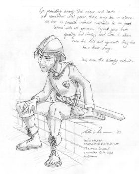 Discworld - Sam Vimes by animator