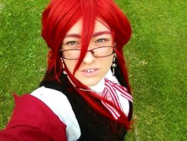 Grell Sutcliff: Dying Eyes by Reinaxia