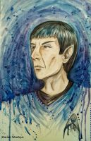 For Leonard Nimoy by yuuyami-artist