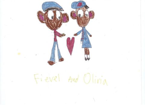 Fievel And Olivia by OliviaWhitley12