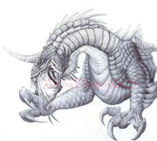 Thanks for 3000 Dragon in Pen by DargonXKS