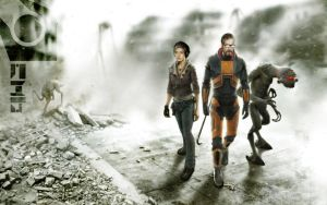 Half-Life 2_triple by WillhelmKranz