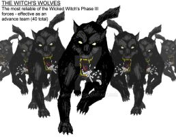 The Witch's Wolves by Jochimus
