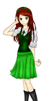 Comission: Test Drawing #2, Pepper Spellington by Audreyfan1001