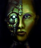 Robotic Beauty - Contest by juyideviant