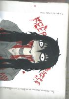 Jeff the killer (inspered by P4percake) by LouaSmourbif