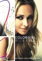 Color Girl Wallpaper by tigz54