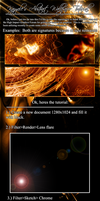 Abstract Wallpaper Tutorial by Kazyole