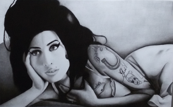 amy winehouse portrait by Macca4ever