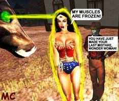 Wonder Woman Captured On A Western Planet by The-Mind-Controller