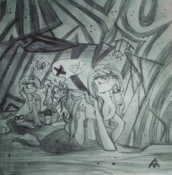 search diamonds in the underground by ALPHAtarra