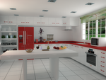 Cocina - Kitchen by The-Ronyn