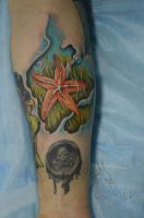 Sea star  by ABYSS-TAT-2S
