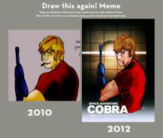 Draw this Again: Space Adventure Cobra by Professor-Irony