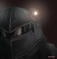 TMNT The Nightwatcher head by theblindalley