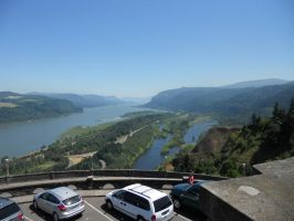 Columbia River Gorge by dragondoodle