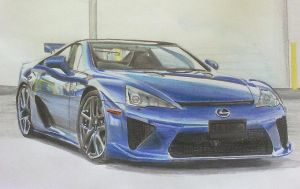 Lexus LFA by And300ZX