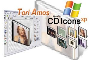 Tori Amos CD Icons XP by splat