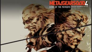 Metal Gear Solid 4 HD PS3 by TexStar05