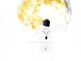 Shay and the moon on his back by Twits-oia