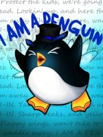 I AM A PEN-GU-IN by SarahKahlan