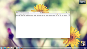 Clean Firefox lovely by BluPaper