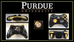 Purdue University Custom X360 Controller by CARDI-ology