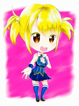 Chibi lucy heartfilia by reicel-chan