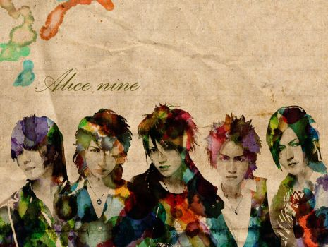 Wallpaper Alice nine by turkoois